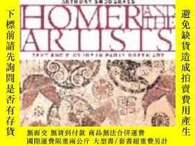 二手書博民逛書店【罕見】Homer And The Artists:Text A