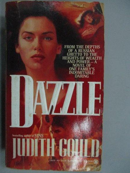 【書寶二手書T3/原文小說_LPA】DAZZIE_Judith Gould