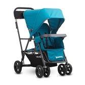 Joovy Caboose Ultralight Graphite 新款輕量級雙人推車 - 藍(第二座椅需另購)【佳兒園婦幼館】