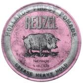 REUZEL豬油髮蠟(粉紅色)113G
