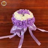 熱銷影樓拍照道具結婚慶中韓歐式森系高檔浪漫新娘仿真手捧花