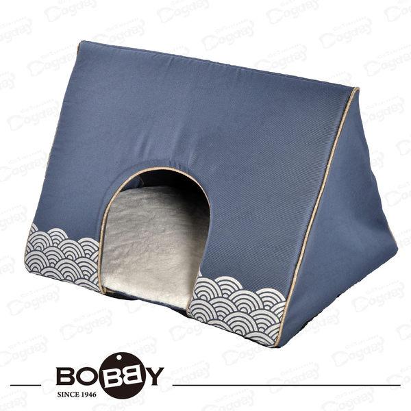法國《BOBB》和風三角窩 躲貓貓 隱蔽性佳 小型犬睡床 狗屋 吉娃娃/約克夏