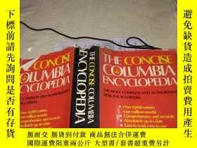 二手書博民逛書店THE罕見CONCISE COLUMBIA ENCYCLOPED