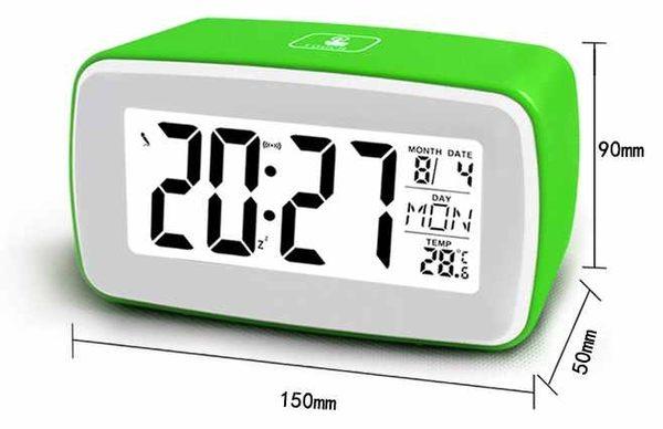 聰明錄音萬年曆鬧鐘(綠)