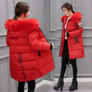 修身羽絨冬天加絨冬天加厚上衣 夾克女款百搭棉服女士外衣 冬季女生棉襖冬裝女款保暖女孩外套