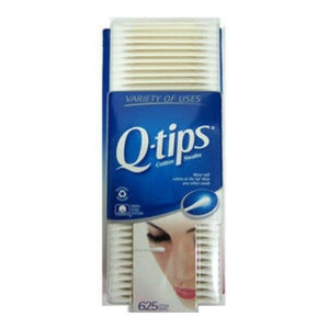 美國Q-tips紙軸棉花棒(100%純棉) 625支*3盒