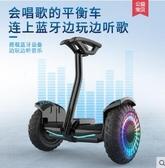 比步帶扶桿電動自平衡車雙輪成年學生10寸兒童8-12兩輪智慧代步車LX 聖誕節