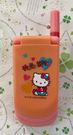 【震撼精品百貨】Hello Kitty 凱蒂貓~三麗鷗 KITTY 大哥大/摺疊手機玩具-紅#72559