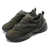 Nike M2K Tekno SP 綠 黑 Dad Shoes 老爸鞋 麂皮 男鞋 女鞋 運動鞋【PUMP306】 BV0074-300