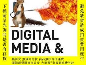 二手書博民逛書店Digital罕見Media And SocietyY256260 Simon Lindgren Sage P