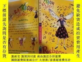 二手書博民逛書店rainbow罕見magic rebecr the rock n roll fairy 彩虹魔術搖滾仙女麗貝克..