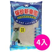 【YCEASON】貓砂新樂園 8LB 4入-箱購