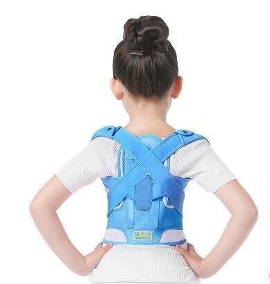 兒童防駝背矯正帶  男女小學生矯姿帶 脊椎矯正器【潮咖範兒】