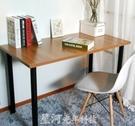 電腦桌 簡易電腦桌台式書桌家用簡約寫字台臨時辦公桌子出租房公寓桌 DF   全館免運