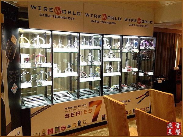 盛昱音響~美國 WireWorld LUNA 7 喇叭線 2M*2【獨家QUAD DNA Helix技術】現貨