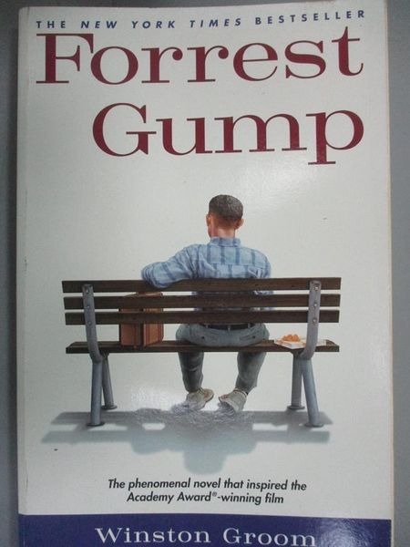 【書寶二手書T6/原文小說_IHT】Forrest Gump : the novel_Winston