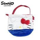 【日本正版】凱蒂貓 束口 手提袋 便當袋 Hello Kitty 三麗鷗 Sanrio - 104477