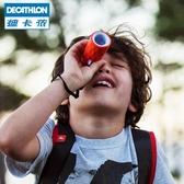 兒童定焦光學多彩單筒望遠鏡 戶外徒步露營 小巧便攜 QUOP 雙十二全館免運