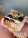 氣墊化妝品收納盒口紅眼影盤收納盒桌面置物架抽屜分隔彩妝透明格