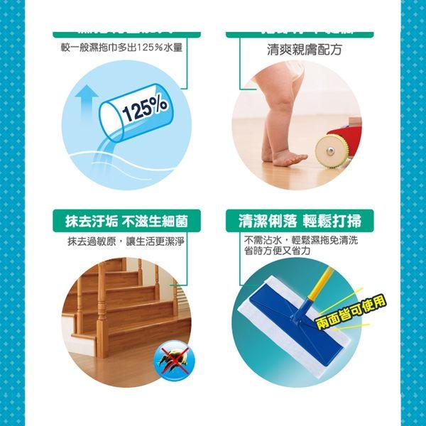 【立得清】防螞蟻塵蟎濕拖巾 環保天然 15抽/包