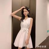 2020流行裙子氣質時尚洋氣性感夜店女裝小個子輕熟風連身裙收腰 FX4734 【夢幻家居】