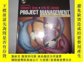 二手書博民逛書店Project罕見Management: The Manager