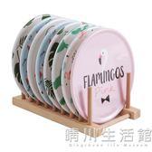 卡通彩盒裝美耐瓷隔熱餐墊8個裝 鍋墊隔熱墊密胺墊餐桌防燙墊子 晴川生活館