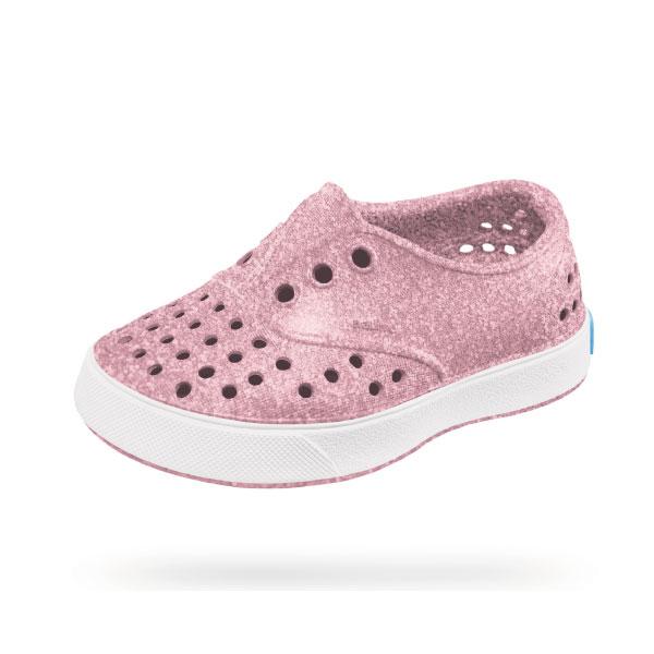 【原廠公司貨】native MILLER 童鞋/洞洞鞋/懶人鞋 亮彩粉