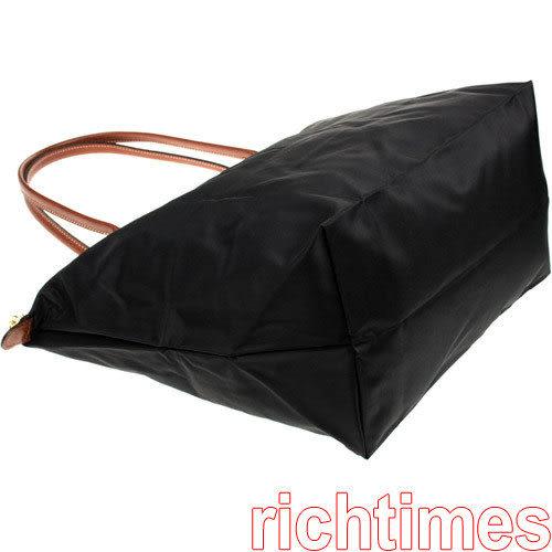 LONGCHAMP水餃大肩背包(黑)LC089622