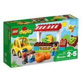 樂高積木LEGO 得寶系列 10867 農夫市場