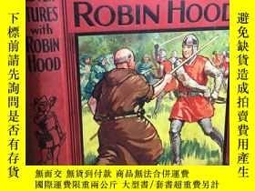 二手書博民逛書店more罕見adventures with robin hood