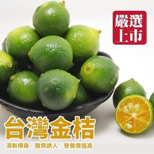 【WANG-全省免運】台灣香甜黃澄金桔【5台斤/箱】
