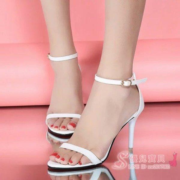 高跟鞋 正韓漆皮銀色新娘鞋女潮中跟細跟淺口單鞋尖頭側空高跟鞋OL工作鞋