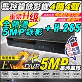 台灣製造 5MP EX2 4路 AHD TVI CVI 960H 防駭 DVR 適 東芝 WD 1TB 4TB 10TB 硬碟