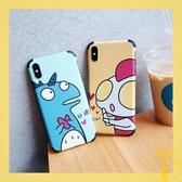蘋果手機殼iphonexs max情侶8/7/6保護殼【雲木雜貨】