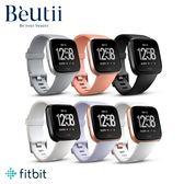 【贈皮革錶帶】FITBIT Versa 智能運動手錶 經典款 防水 心率 行動支付 睡眠監測