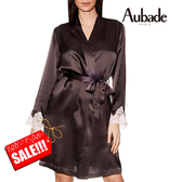 Aubade-VI蠶絲L/XL及膝上外袍