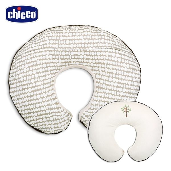 chicco-Boppy雙面多功能授乳枕-奶油生命樹
