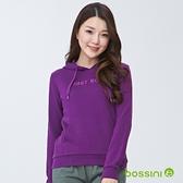 【歲末出清2件999】連帽厚棉T恤01深紫-bossini女裝