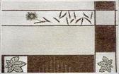 范登伯格 綠洲★大地系圈毛踏墊(內附止滑網)-楓葉(淺款)60x90cm
