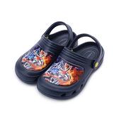 超人力霸王 兩穿園丁鞋 藍 UM0269 中大童鞋