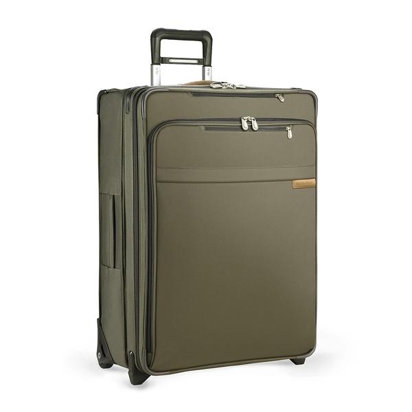 【終身保固 Briggs & Riley 超輕量系列 BRU128CX-7】Baseline 28吋可擴充二輪行李箱(卡其)