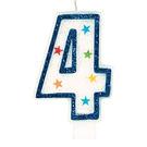 星星數字蠟燭-4