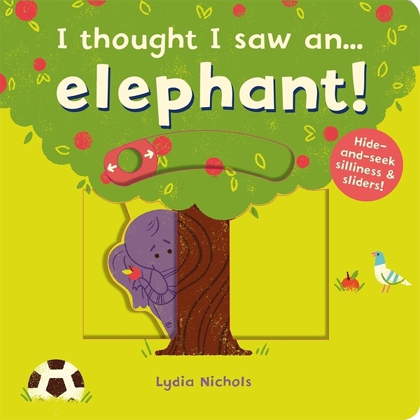 I Thought I Saw An...Elephant! 大象玩捉迷藏 硬頁操作書