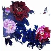 紋身貼 防水紋身牡丹古裝拍攝寫真紋身韓國貼紙