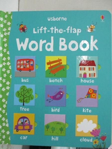 【書寶二手書T1/語言學習_DI4】Lift-the-flap Word Book_Felicity Brooks,Corrine Bittler