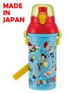里和家居 迪士尼玩具總動員 日本製單手彈蓋直飲水壺480ml 飲料壺 隨手杯