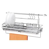 檯面用碗盤架含3502不鏽鋼掛桿_3510
