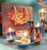 果凍蠟燭 海洋繫列禮品歐式創意香薰 浪漫情人節求婚生日錶白禮物 七夕情人節特惠