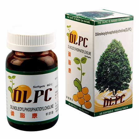 DLPC 磷脂康 60顆【瑞昌藥局】007170 含多元不飽和磷脂膽鹼(PPC)